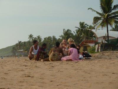 Beach hustlers