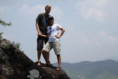 On top of the tea mountain