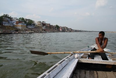 On the water of Ganges