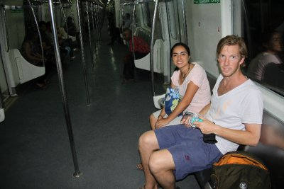 Are we still in India (nice and clean metro)?
