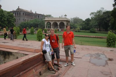 Red Fort, Garden people