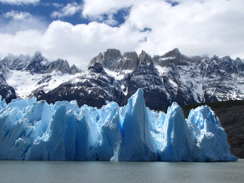 Torres Del Paine Iceberg on Gray Lake