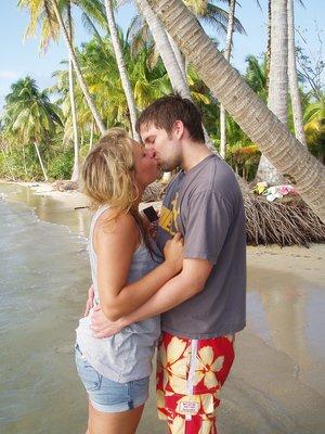 Ine og Matias i paradis