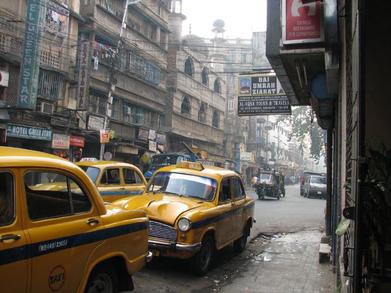 2a. Calcutta streets