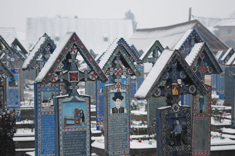 Merry Cemetary, Sapanta