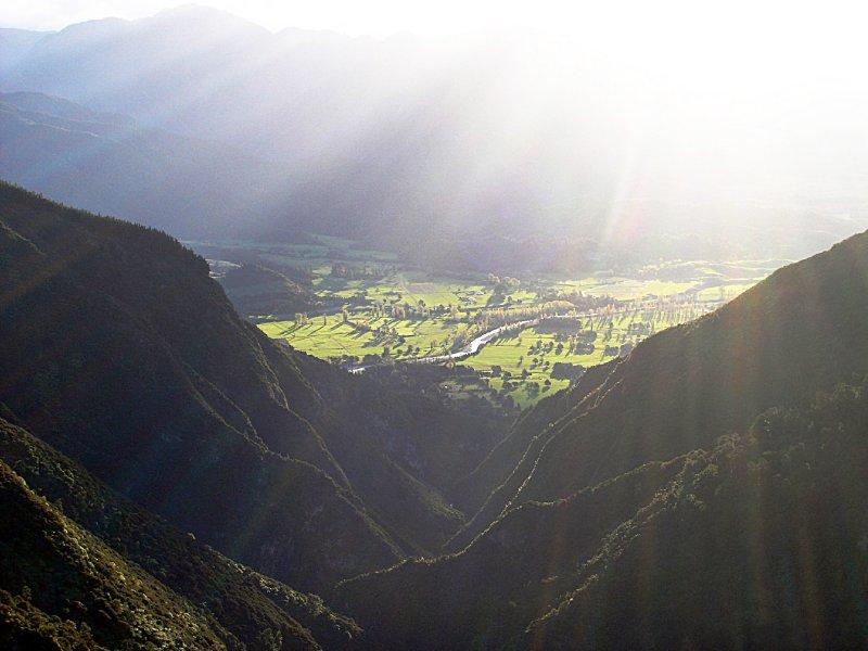 view near Harwood Hole