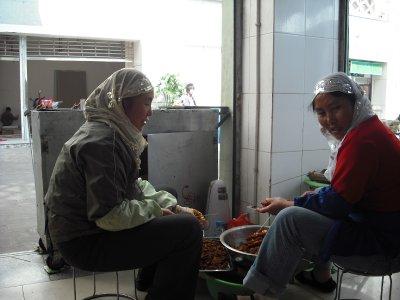 Muslim kebab stall, Kunming