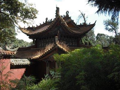 Small pagoda at Bamboo Temple, Kunming