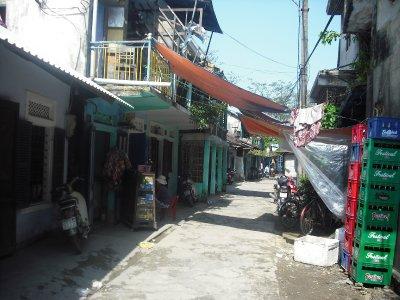 Back streets of Hue