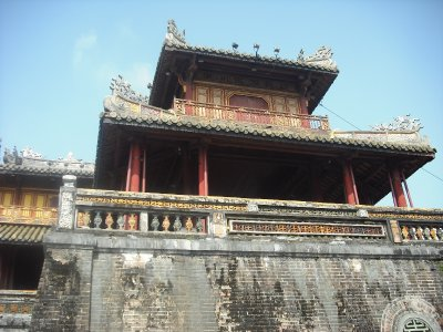 Ngu Phung (area where the emperor would appear on special occasions), Ngo Mon Gate, Imperial Enclosure