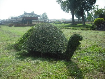 Topiary - very prevalent in Vietnam, Imperial Enclosure