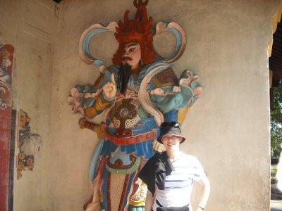 At Thien Mu Pagoda