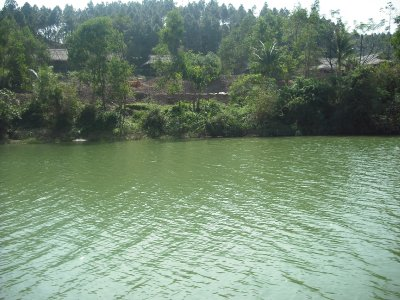 River view from the boat, Hue