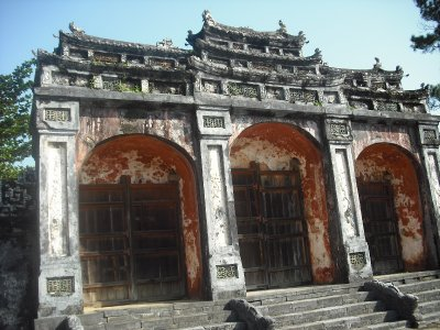 Gate, Tomb of Minh Mang