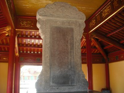 Stele, Tomb of Minh Mang