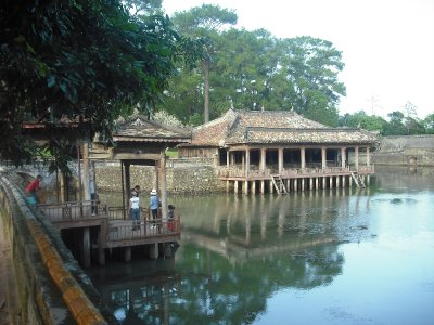 Pavilion on the lake, Tomb of Tu Duc