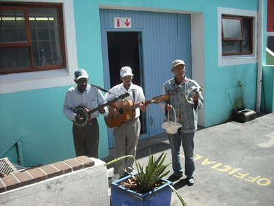 Musicians at Kalk Bay, Western Cape