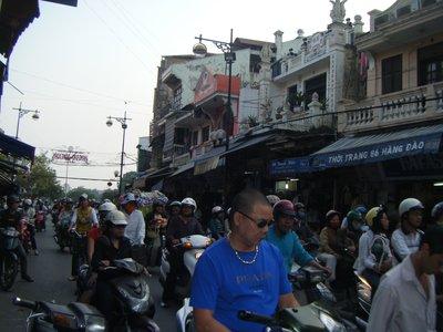 That Hanoi traffic!