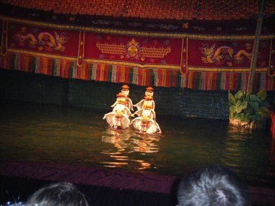 Fairy dance, Water Puppet Theatre, Hanoi