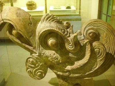 Phoenix Head, History Museum, Hanoi