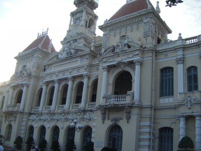 People's Committee Building (former Hotel de Ville), HCMC