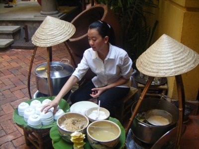 The desserts section, Quan An Ngon