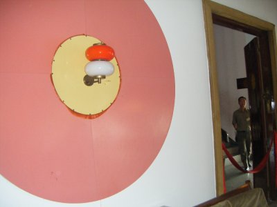 Sixties-style interior design in the Reunification Palace!