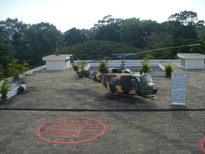 Helipad at the Reunification Palace, HCMC