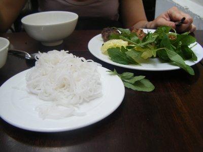 Bun Cha, favourite Vietnamese meal, Quan An Ngon