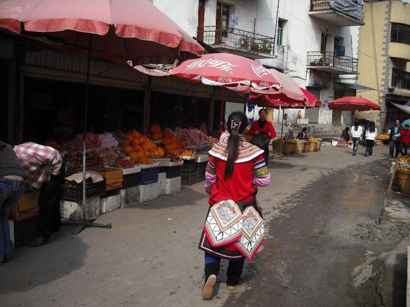 Minority dress, Xinjie