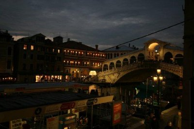 Rialto Bridge - nightlife