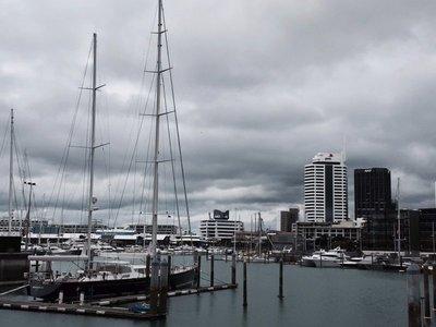 Auckland Harbour landscape