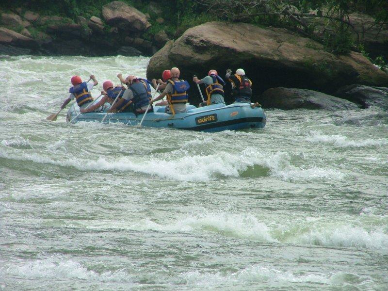 River rafting in Jinja