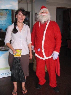 hehe Santa..
