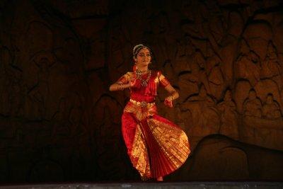 Dance festival in Māmallapuram