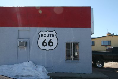 Flagstaff is on the old Route 66
