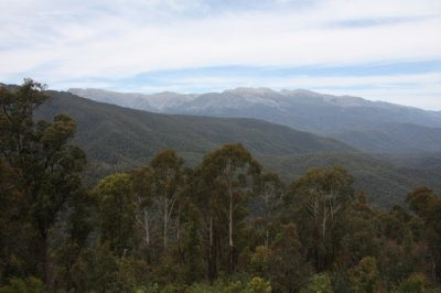 View to Mount Kosciuszko