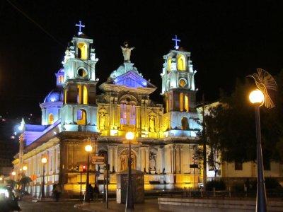 Otavalo de noche