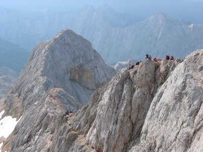 This is hiking! Mount Triglav