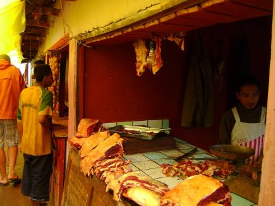 Butcher stall, Ambositra
