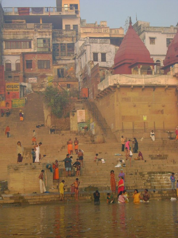 Bathing in Mother Ganga, Varanasi
