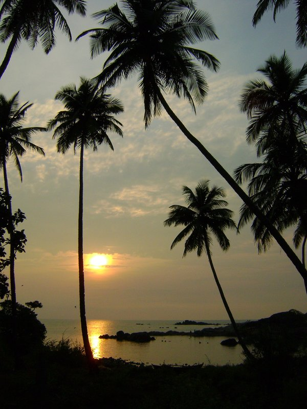 Sunset, Palolem
