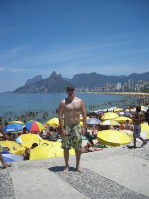 Breathing in at Copacabana