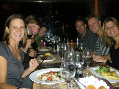 The Birthday dinner, with the Shipmates - Ushuaia
