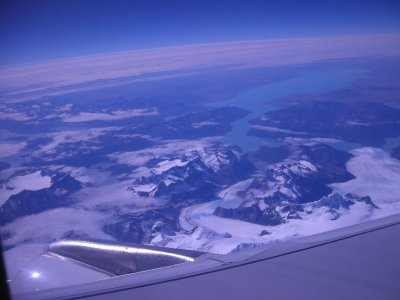View from the plane - Puerto Montt to Puerto Natales