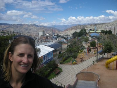 La Paz - view from the Mirador