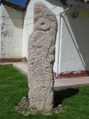 Pre-Incan Catfish - Pucara Museum