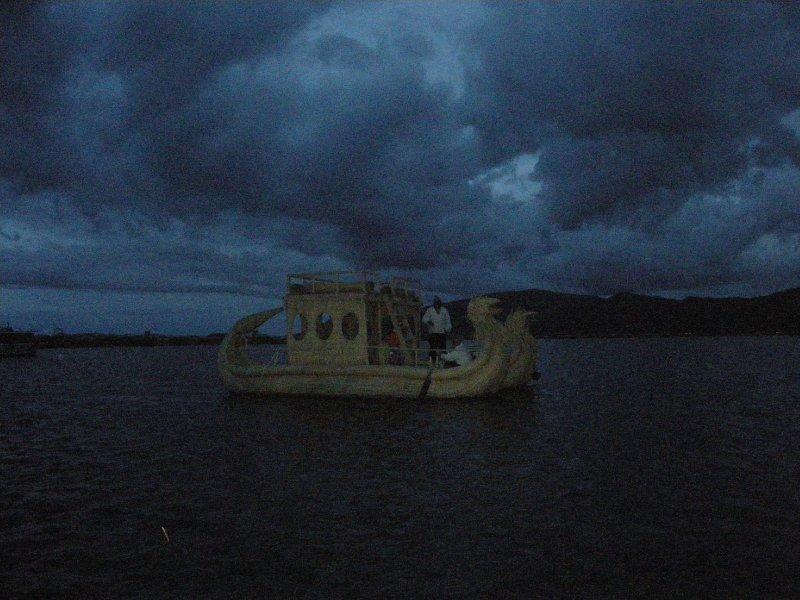 Reed boat - Uros islands