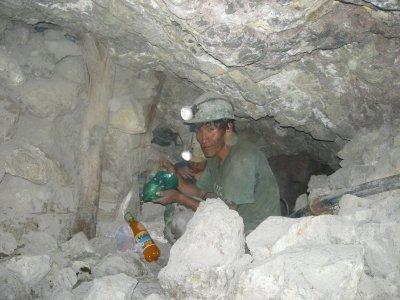 Potosi - Mine Tour - Father and son