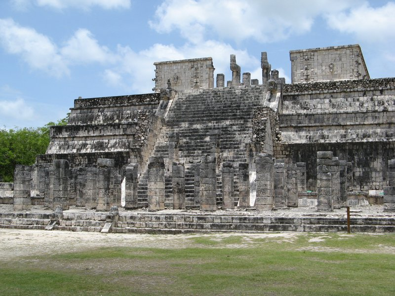 A further view of the Chichen Itza